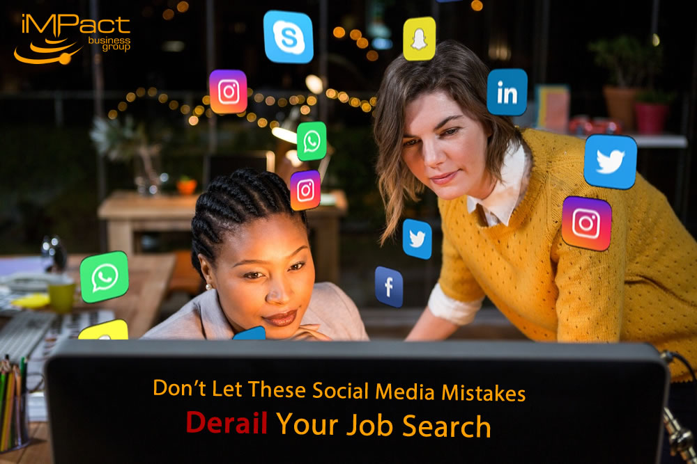 don u0026 39 t let these social media mistakes derail your job search