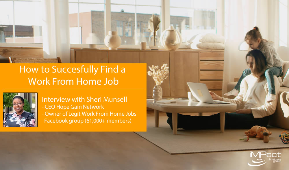 How To Successfully Find A Work From Home Job
